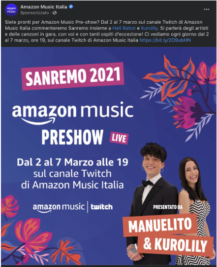 Sanremo Twitch